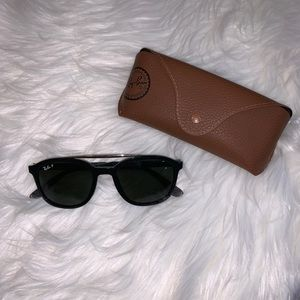 Ray-Ban Aviator Black Sunglasses Sunnies